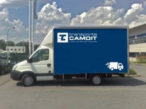 Affretement camion 3,5T avec chauffeur