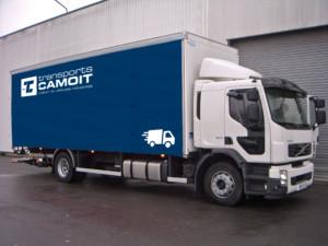 Affrètement de camion 19T avec hayon