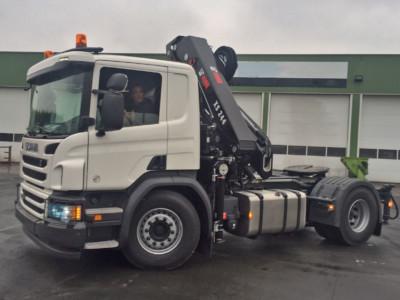 Camion Tracteur Semi-Remorque 1