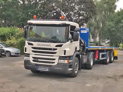 Camion Tracteur Semi-Remorque 2