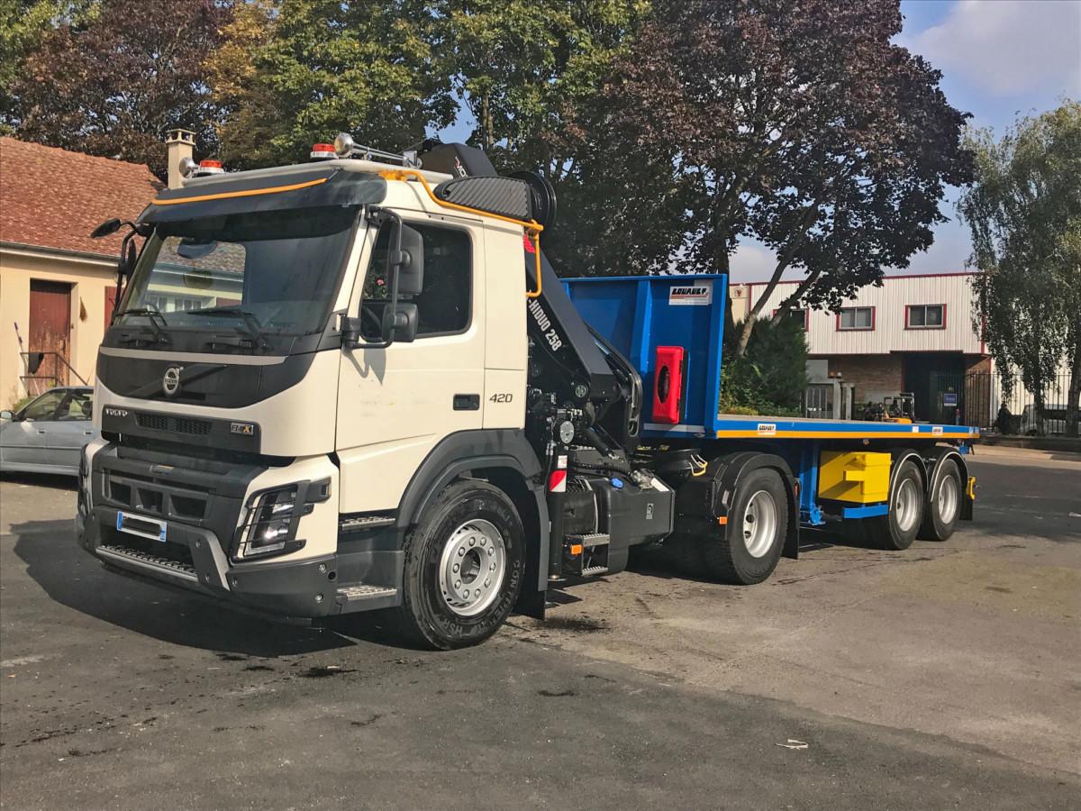 Camion Tracteur Semi-Remorque 6